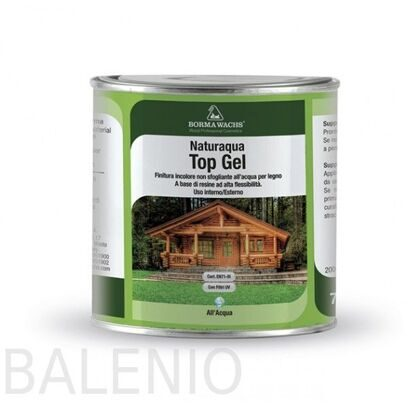 Лак водный NATURAQUA TOP GEL 30%,60%  (2,5 л)